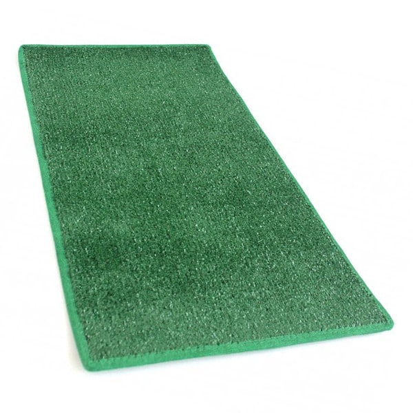 Green Heavy Indoor Outdoor Artificial Grass Turf Area Rug