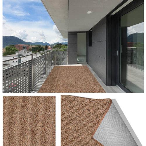 Natural Path Sundown Level Loop Indoor-Outdoor Area Rug Carpet