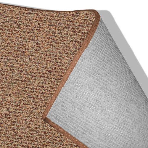 Natural Path Sundown Level Loop Indoor-Outdoor Area Rug Carpet - Durable Backing