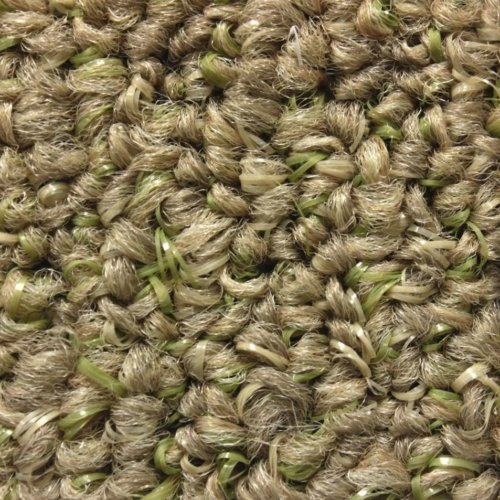 grass color area rug