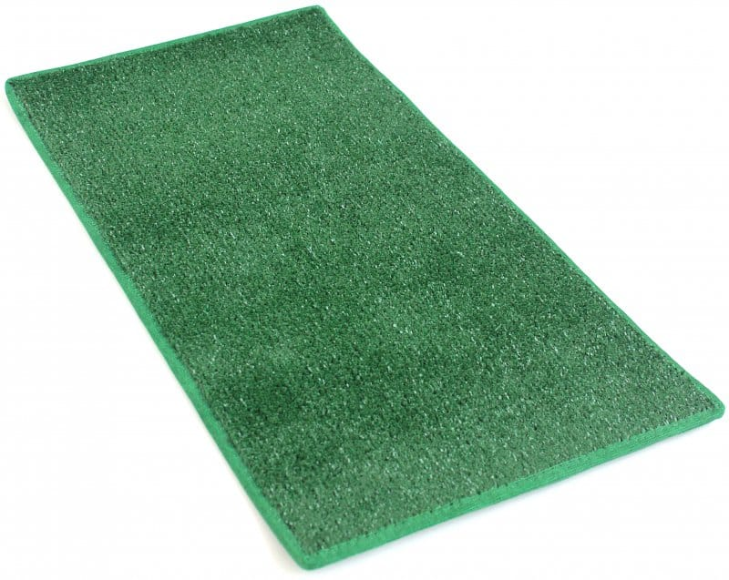 green heavy duty indoor outdoor artificial grass turf area rug carpet with action back backing target 8x10 walmart