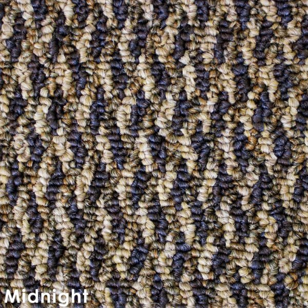 Zeal Midnight Indoor/Outdoor Graphic Loop Carpet Area Rug