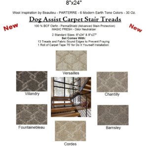 Parterre DOG ASSIST Carpet Stair Treads