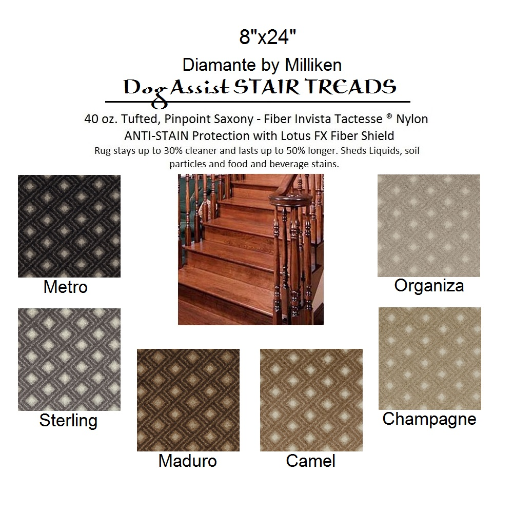 DOG ASSIST Carpet Stair Treads