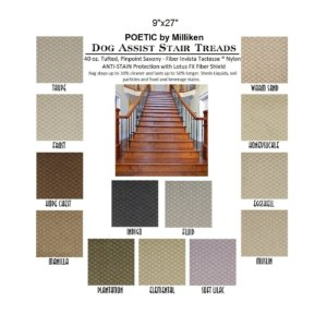 Poetic II DOG ASSIST Carpet Stair Treads