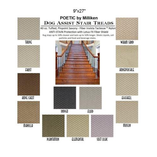 Poetic II DOG ASSIST Carpet Stair Treads