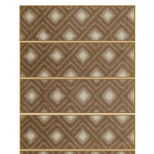 modern pattern light brown color rug