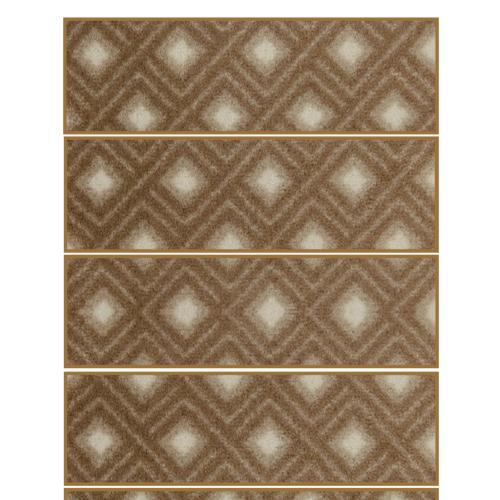 modern pattern light brown color rug