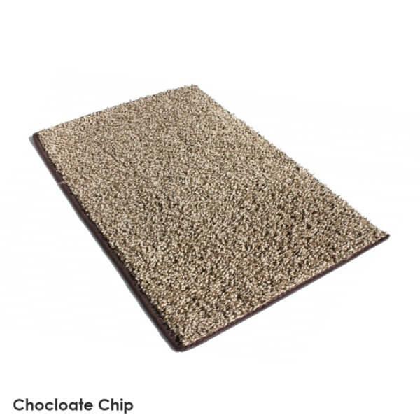 Chocolate Chip Indoor Frieze Area Rug