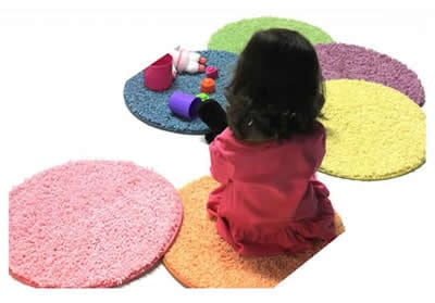 Child circle seats - Koeckritz Custom Rugs