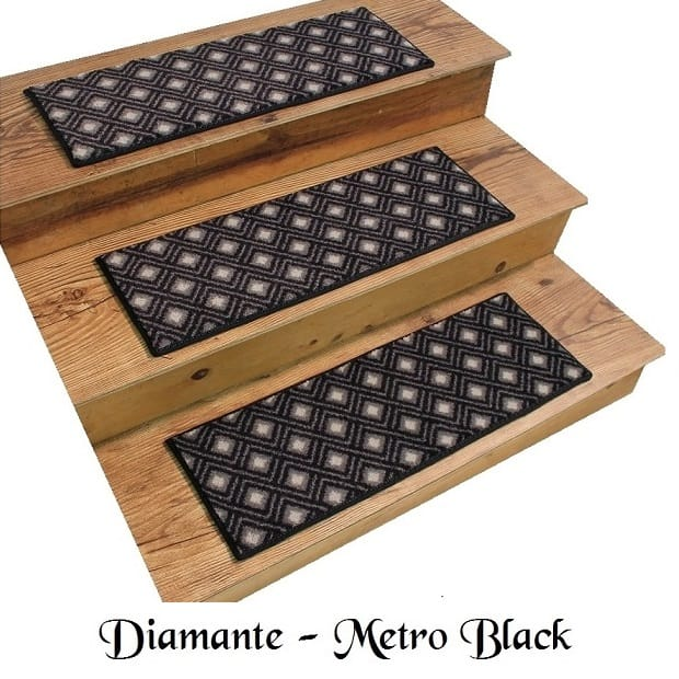 DIAMANTE Metro DOG ASSIST Carpet Stair Treads 8 X24 Or 9 X27 Sets Of 12 18 Available