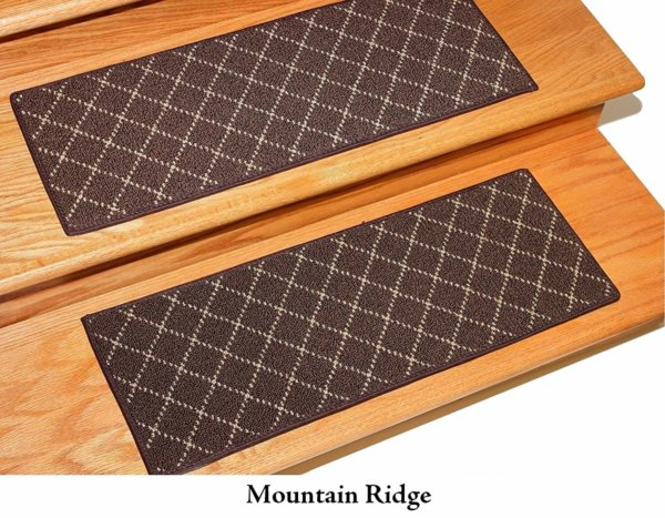 Ansley Park DOG ASSIST Carpet Stair Treads Mountain Ridge 1