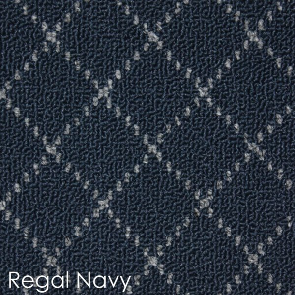 Ansley Park DOG ASSIST Carpet Stair Treads Regal Navy