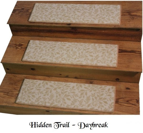 HIDDEN TRAIL Daybreak DOG ASSIST Carpet Stair Treads