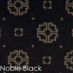 noble black rug