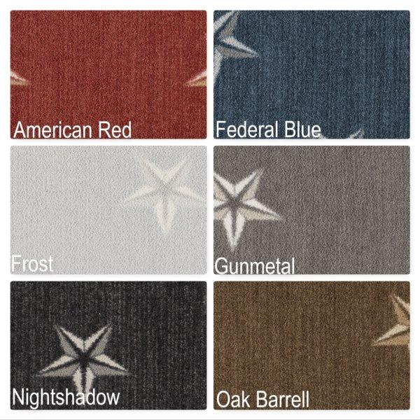 Milliken Allegheny Indoor Star Pattern Area Rug Collection