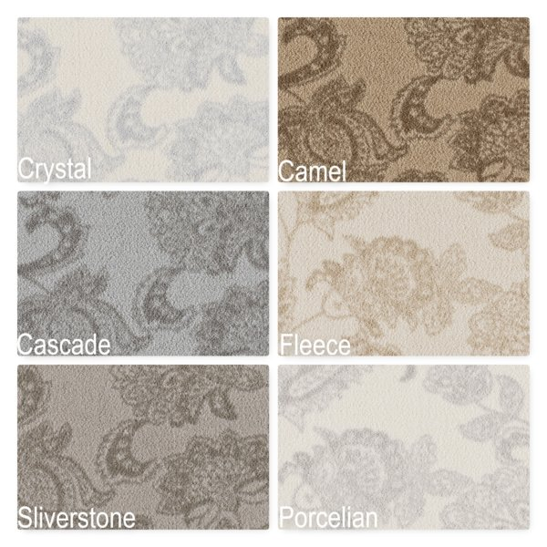 Milliken Arietta Indoor Floral Pattern Area Rug Collection