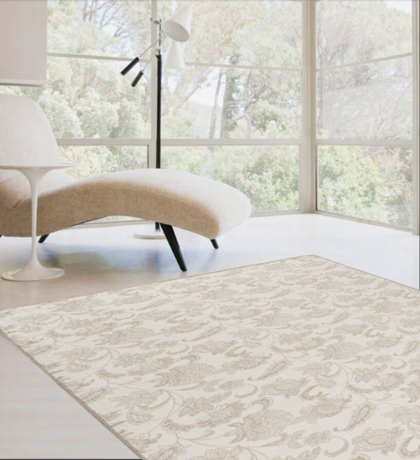 Milliken Arietta Indoor Floral Pattern Area Rug Collection Room