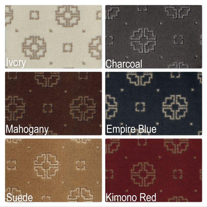 Milliken Asian Ornament Indoor Medallion Pattern Area Rug Collection