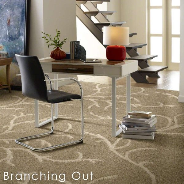 Branching Out Indoor Area Rug Collection Shaw Luxury 41oz Super Soft