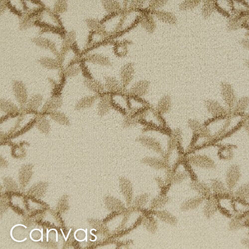 Milliken Organic Indoor Leaf Pattern Area Rug Collection Canvas