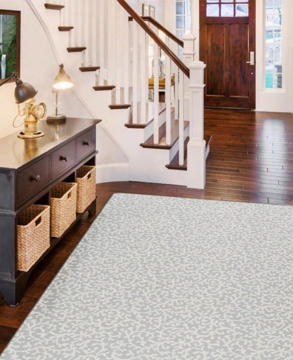 Milliken Coral Springs Pattern Indoor Area Rug Collection Room