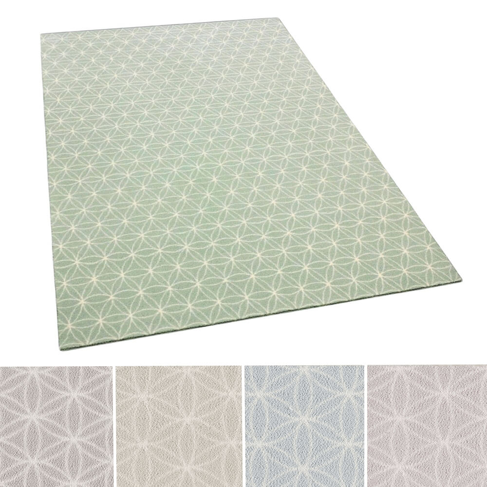 Milliken Eyelet Repeat Pattern Indoor Area Rug Collection