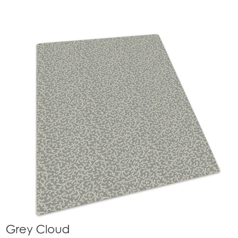 Milliken Coral Springs Pattern Indoor Area Rug Collection Grey Cloud