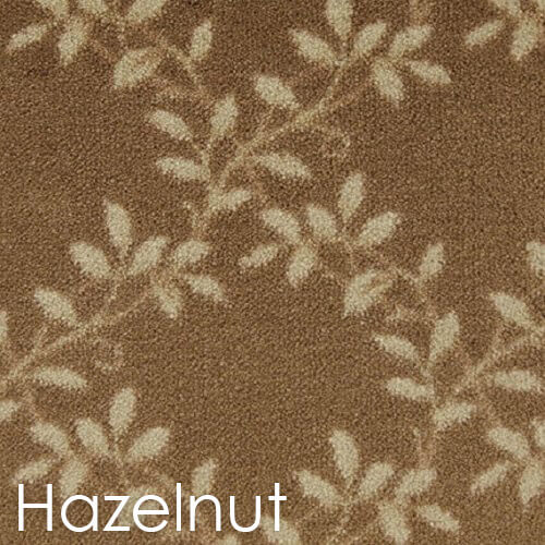 Milliken Organic Indoor Leaf Pattern Area Rug Collection Hazelnut