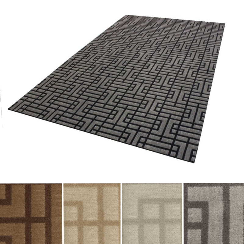 Milliken Linkage Indoor Pattern Area Rug Collection