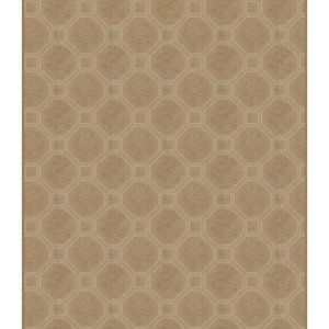 Milliken Delicate Frame Indoor Octagon Pattern Area Rug Collection Sable rug