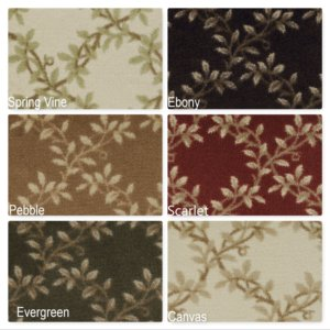 Milliken Organic Indoor Leaf Pattern Area Rug Collection