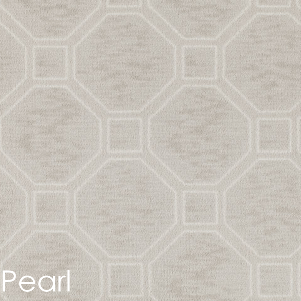 Milliken Delicate Frame Indoor Octagon Pattern Area Rug Collection Pearl