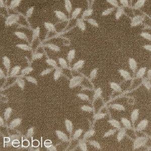 Milliken Organic Indoor Leaf Pattern Area Rug Collection Pebble
