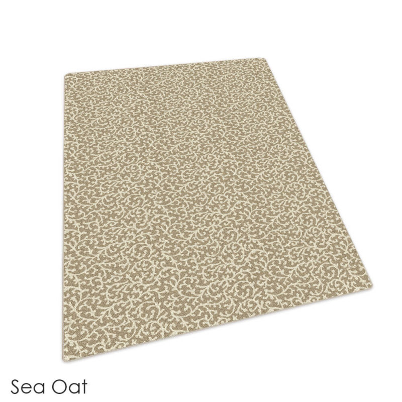 Milliken Coral Springs Pattern Indoor Area Rug Collection Sea Oat