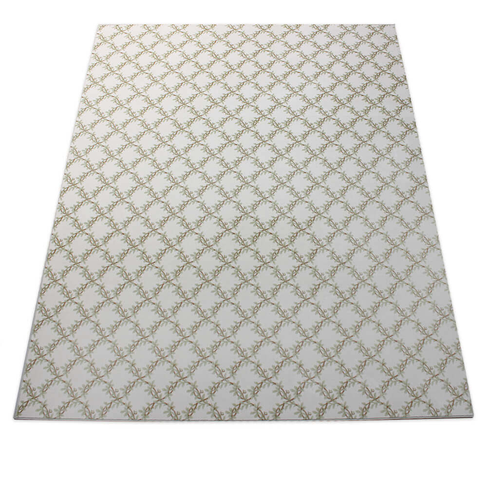 Organic Leaf Pattern Indoor Area Rug Collection Rug