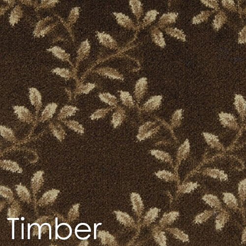 Milliken Organic Indoor Leaf Pattern Area Rug Collection Timber