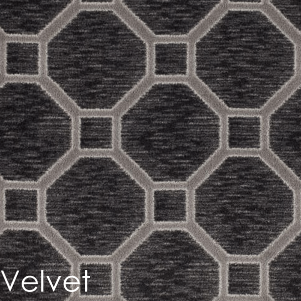 Milliken Delicate Frame Indoor Octagon Pattern Area Rug Collection Velvet