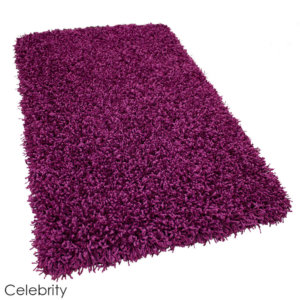 Tuftex Showbiz 1/2 Thick Shag Indoor Area Rug Collection Celebrity