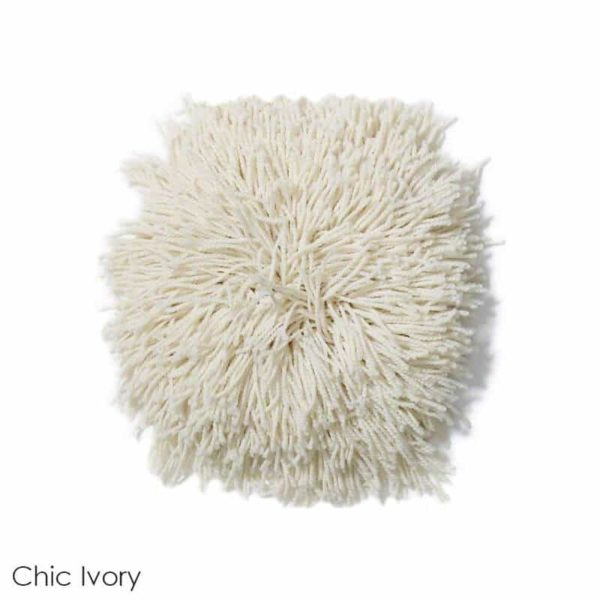 Tuftex Celeb 100oz Super Thick Shag Indoor Area Rug Chic Ivory