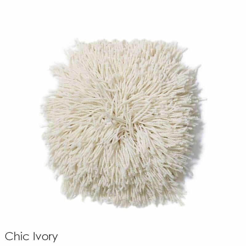 Tuftex Celeb 100oz Super Thick Shag Indoor Area Rug Chic Ivory