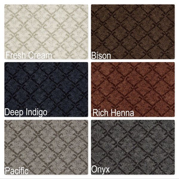 Classical Couture Repeat Pattern Indoor Area Rug Collection