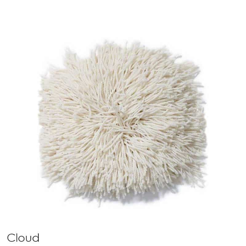 Tuftex Celeb 100oz Super Thick Shag Indoor Area Rug Cloud