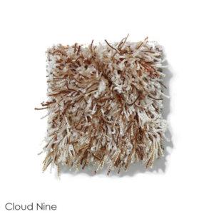 Tuftex Swag 75 oz Super Thick Shag Indoor Area Rug Collection Cloud Nine