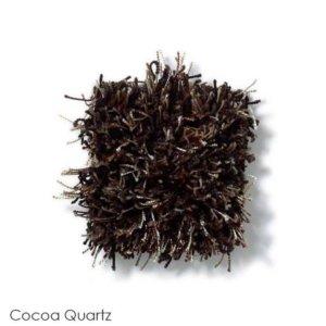 Tuftex Swag 75 oz Super Thick Shag Indoor Area Rug Collection Cocoa Quartz