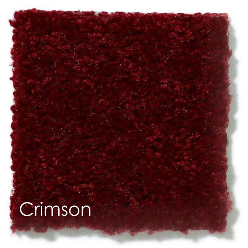 Dyersburg Cut Pile Indoor Area Rug Collection Crimson