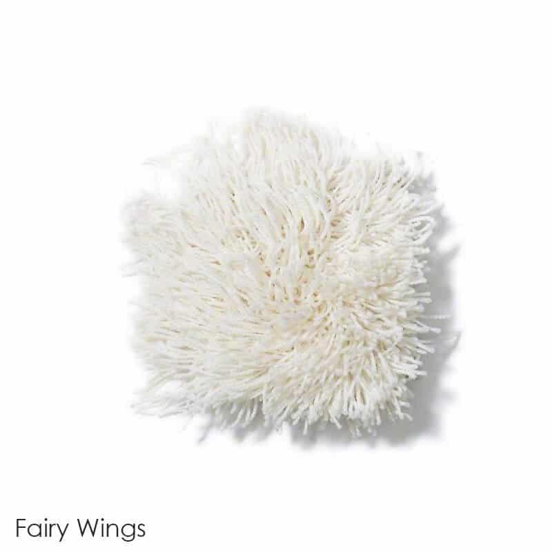 Tuftex Celeb 100oz Super Thick Shag Indoor Area Rug Fairy Wings