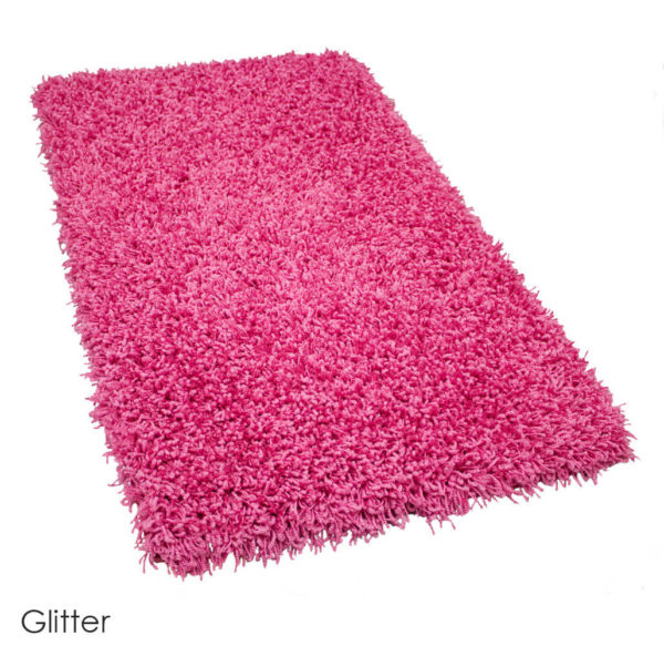 Tuftex Showbiz 1/2 Thick Shag Indoor Area Rug Collection Glitter