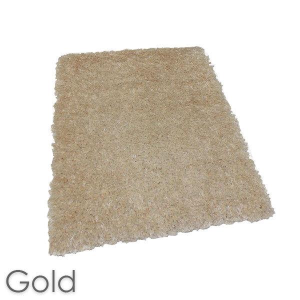 Kane Carpet Super Nova Ultra Soft Area Rug Shagtacular Collection Gold