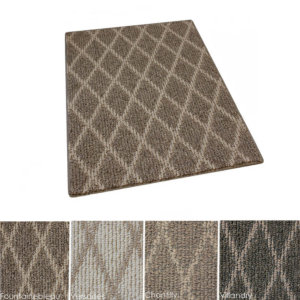 Jardin Indoor Berber Diamond Pattern Area Rug Collection